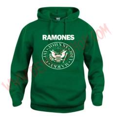 Sudadera Ramones Verde