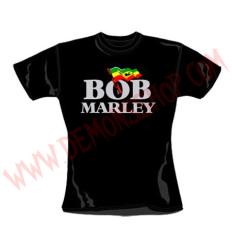 Camiseta Chica MC Bob Marley