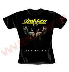 Camiseta Chica MC Dokken