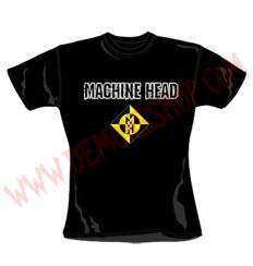 Camiseta Chica MC Machine Head