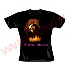 Camiseta Chica MC Marilyn Manson