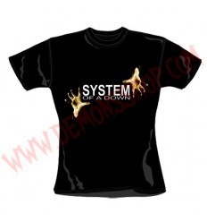 Camiseta Chica MC System of a Down