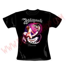Camiseta Chica MC Whitesnake