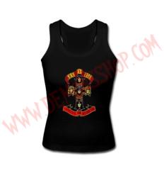 Camiseta Chica SM Guns & Roses