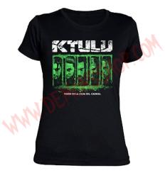 Camiseta Chica MC Ktulu