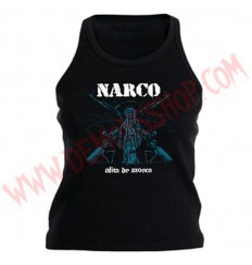 Camiseta Chica Tirantes Narco