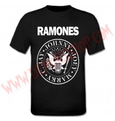 Camiseta MC Ramones Negra