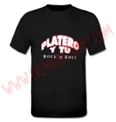Camiseta MC Platero y Tu