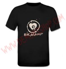 Camiseta MC Rise Against