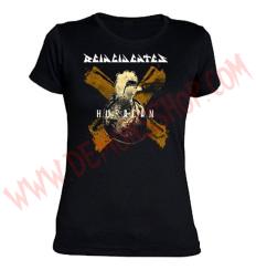 Camiseta Chica MC Reincidentes