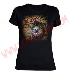 Camiseta Chica MC The Locos