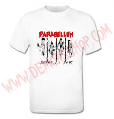 Camiseta MC Parabellum (Blanca)