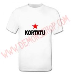 Camiseta MC Kortatu (Blanca)