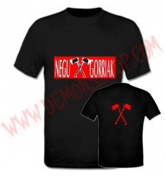 Camiseta MC Negu Gorriak