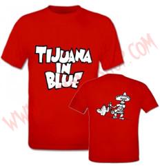 Camiseta MC Tijuana In Blue (Roja)