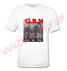 Camiseta MC GBH (Blanca)