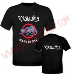 Camiseta MC The Casualties