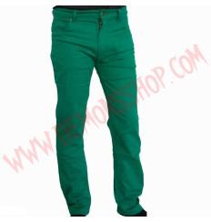 Pantalon Elastico Liso Verde