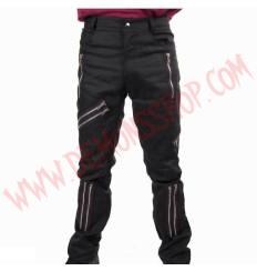 Pantalon Punk Zip Negro