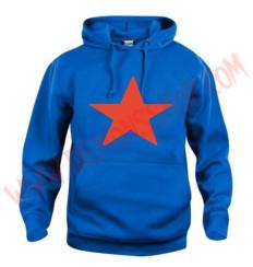 Sudadera Estrella Roja (Azul)