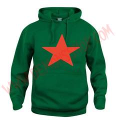 Sudadera Estrella Roja (Verde)
