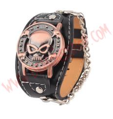 Muñequera Reloj Skull