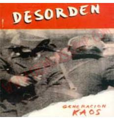 CD Desorden - generacion kaos
