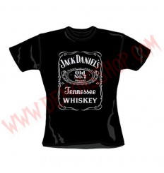 Camiseta Chica MC Jack Daniels