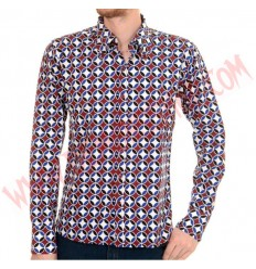 Camisa ML Circle Psychedelic