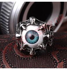 Anillo Eye Dragon Claw Azul