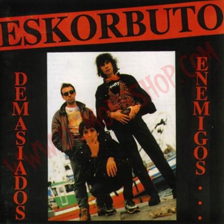 Vinilo LP Eskorbuto - Demasiados Enemigos