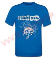 Camiseta MC Gatillazo (Azul)