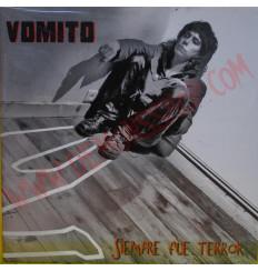 Vinilo LP Vomito - Siempre fue Terror