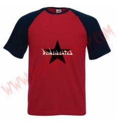 Camiseta MC Reincidentes (Raglan Roja)