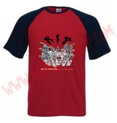 Camiseta MC RIP (Raglan Roja)