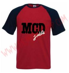 Camiseta MC MCD (Raglan Roja)