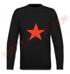 Camiseta ML Estrella Roja (Negra)