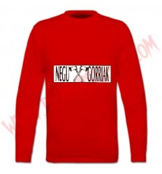 Camiseta ML Negu Gorriak (Roja)