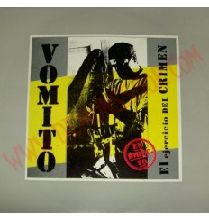 Vinilo LP Vomito - El ejercicio del crimen