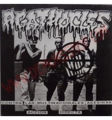 Vinilo LP Agathocles / Violent Headache ‎– Contra Las Multinacionales Asesinas