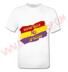 Camiseta MC Monarquia no gracias