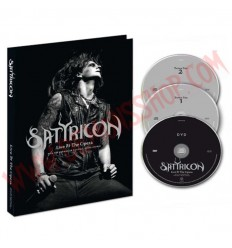 DVD Satyricon - Live at the opera