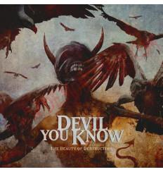 Vinilo LP Devil You Know - The beauty of destruction