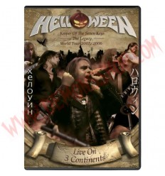 DVD Helloween - Live on 3 continents