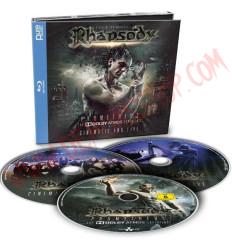 Blu-Ray Rhapsody, Luca Turilli - Prometheus: The dolby atmos experience