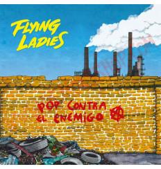 Vinilo LP Flying Ladies - Pop Contra El Enemigo