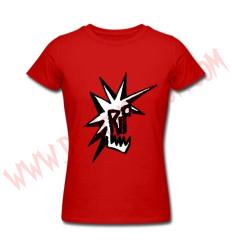 Camiseta Chica MC RIP (Roja)