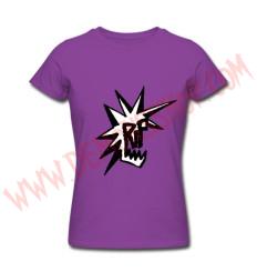 Camiseta Chica MC RIP (Morada)