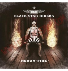 CD Black Star Riders - Heavy fire