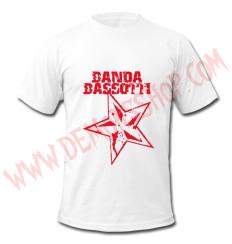 Camiseta MC Banda Basotti (Blanca)
